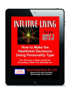 Intuitive Living for the ISTJ