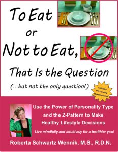 To Eat or Not to Eat, That is the Question by Roberta Schwartz Wennik MS RDN